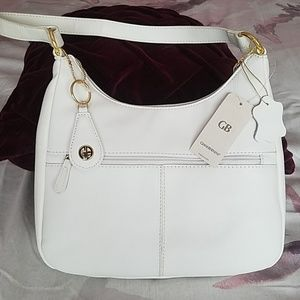 Brand new Giani Bernini white purse